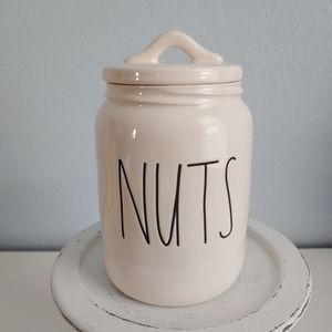 Rae Dunn NUTS Canister
